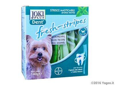 Joki Dent fresh stripes Bayer per cani taglia S 140g
