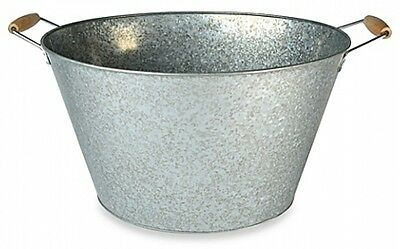 Steel Oval Party Tub Drink Cooler Ice Bucket Outdoor Party Bar Accessories Serve