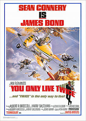James Bond 007 You Only Live Twice Poster 61x91 cm ECONOMY