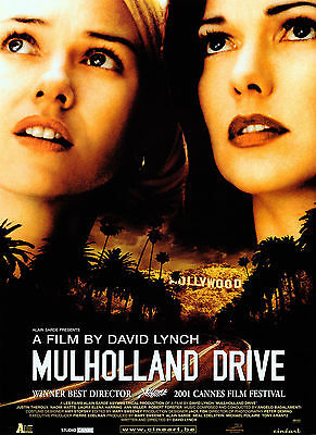 Mulholland Drive Movie Poster 61x91 cm ECONOMY