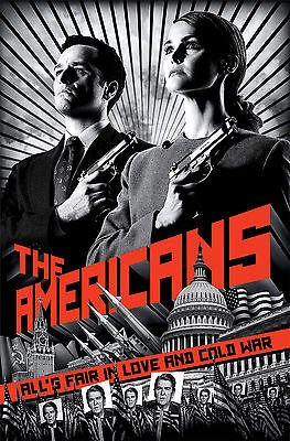 The Americans TV Series Poster 61x91 cm ECONOMY