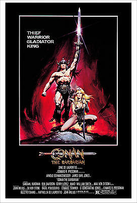 Conan the Barbarian - Conan, el barbaro Movie Poster 61x91 cm ECONOMY