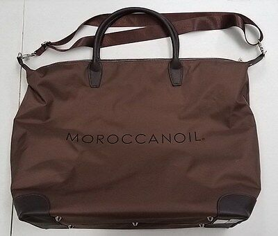 Moroccanoil Brown Carry On Duffle Travel Tote Stylist Bag