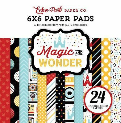 "Echo Park ""magic And Wonder"" 6X6 Paper Pad Disney Mickey Mouse Scrapjack's Place"