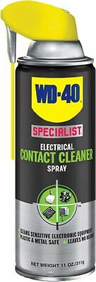 WD-40 300083 Specialist Electrical Contact Cleaner Spray 11 OZ Pack of 1