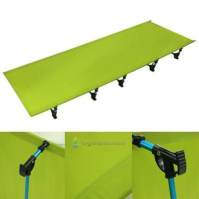 Outdoor Portable Army Military Folding Camping Bed Cot Camp Hiking Green