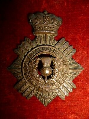 Duke of Edinburgh's Own Volunteer Rifles Voided Type Cap Badge - South Africa