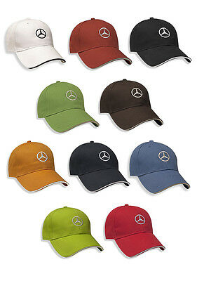 Oem Genuine Mercedes Benz Cotton Cap With Contrast Sandwich Hat