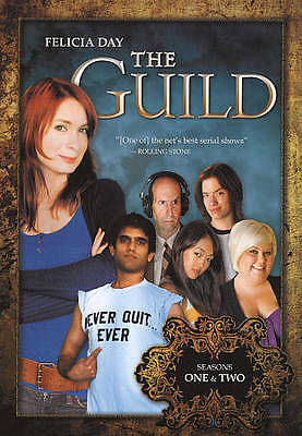 NEW ~ The Guild: Seasons 1  2 (DVD, 2009, 2-Disc Set) Factory Sealed