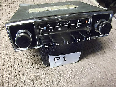 Rare Blaupunkt Hamburg 1960's radio(tested)   .1000+Citroen parts in SHOP