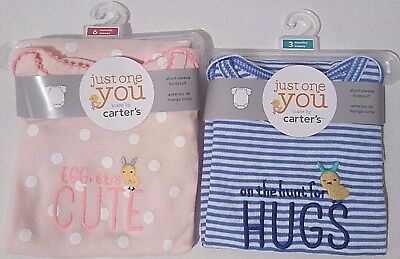 Carter's Just One You Easter BodySuit Infant Baby Boy Girl 3M 6M 9M