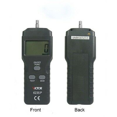 Digital Laser Photo Contact /Non-contact Tachometer RPM Laser Tach Speed Counter