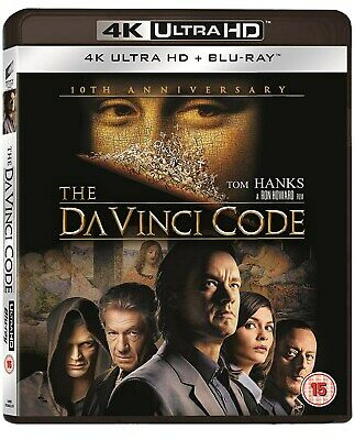 The Da Vinci Code (4K Ultra HD with Blu-ray and UltraViolet Copy (10th Anniver