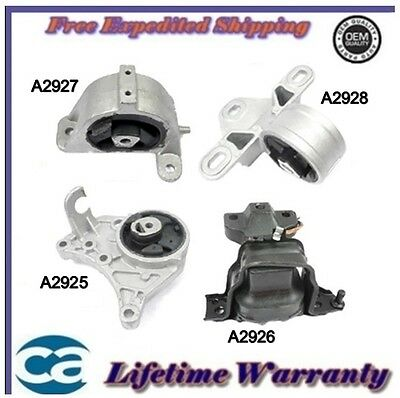 Engine Motor & Trans Mount  2001/2007 Chrysler Town & Country 3.3L, 3.8L