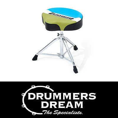 Ludwig Atlas Classic Saddle Style Drum Throne Stool - LAC48TH Brand New