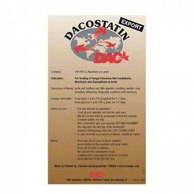 Pigeon Product - Dacostatin by DAC  for Racing Pigeons