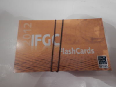 2012 ICC International Code Council IFGC Flashcards