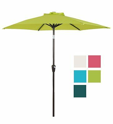 Domi Outdoor Living 7 Ft Patio Umbrella Outdoor Table Market