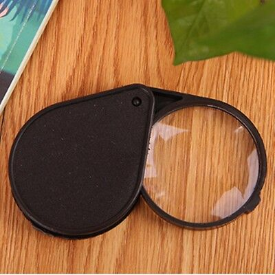 Pop Mini Folding 10X Pocket Jewelry Magnifier Magnifying Eye Glass Loupe Lens