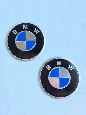 2x Motorcycle 2'' Gas Tank Emblem Badge Decal For BMW Motorcycle Bikes All Years