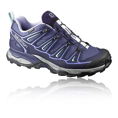 Salomon X Ultra 2 Womens Purple Gore Tex Waterproof Walking Hiking Shoes