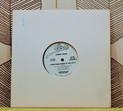 CHEAP TRICK - Everything Works If You Let It [Vinyl 10 inch,1980] USA AS 790 EXC