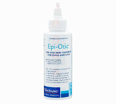 Virbac EPI-OTIC Skin and Ear Cleaner 237ml for Dogs & Cats Epiotic Ear Cleanser