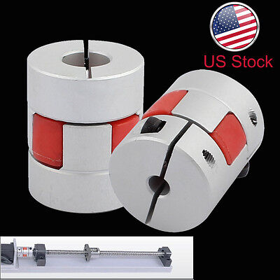 Aluminum Flexible Plum Shaft Motor Coupling CNC Stepper Connector Coupler L30D25