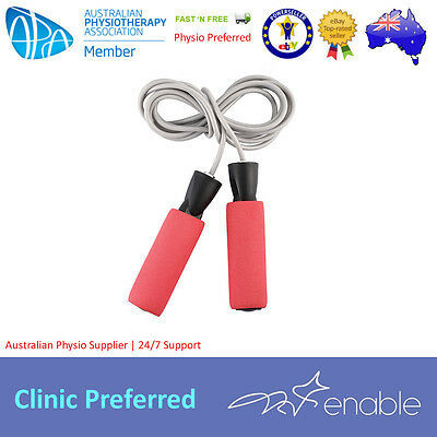 Weighted Skipping Rope | Exercise Equipment | Single Jump Rope | 270cm Length