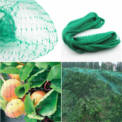10M Anti Bird Netting Net Mesh Vegs Crop Plant Fruit Protection For Farm Garden