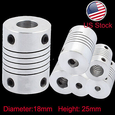5-10MM Flexible Shaft Coupling Rigid CNC Stepper Motor Coupler Connector L25D18