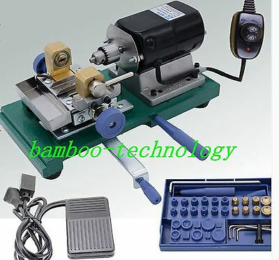 Pearl Drilling Holing Machine Driller Full Set Jewelry Tools brand new fast ship