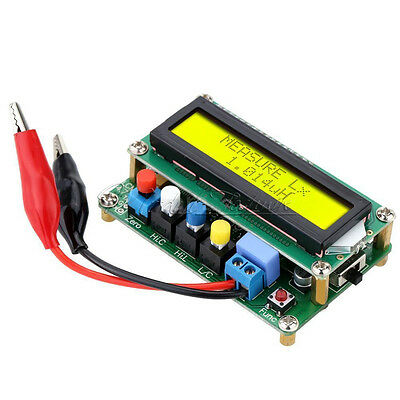 LC100-A Digital LCD High Precision Inductance Capacitance L/C Meter Tester