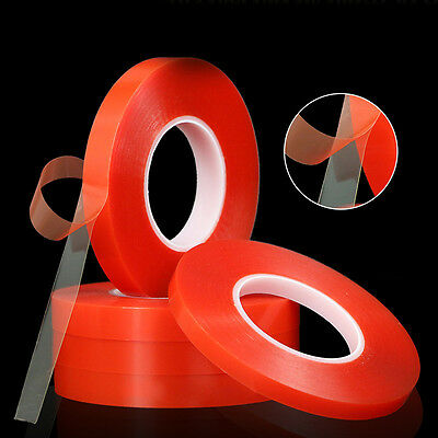 50M PE Double Side Tape Strong Sticky Adhesive Mobile Phone Repair 2-10mm