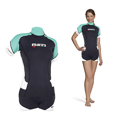 Mares Rash Guard Trilastic Short SheDives - Damen
