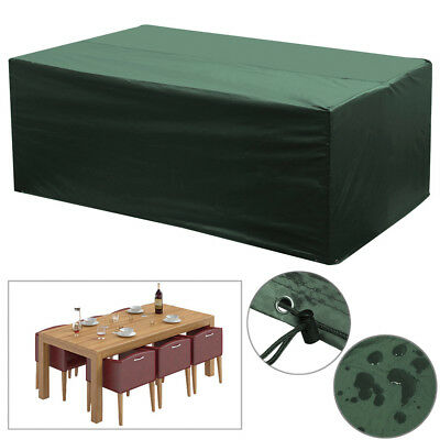 6 Seater Waterproof Garden Patio Furniture Cover Protector Table Rain Cover