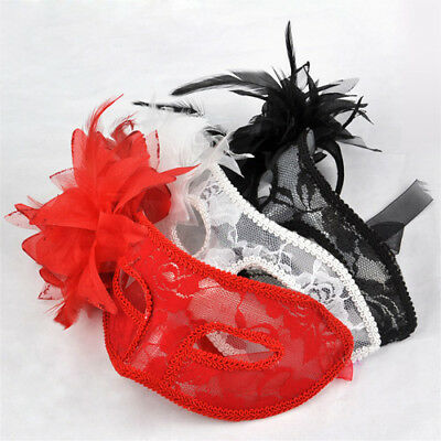 UK Crystal Eye Lace Plastic Venetian Masquerade Mask for Fancy Dress Ball Party