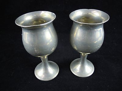 Pair of Goblets Chalices Altar  Pagan Wicca Rrituals Spells