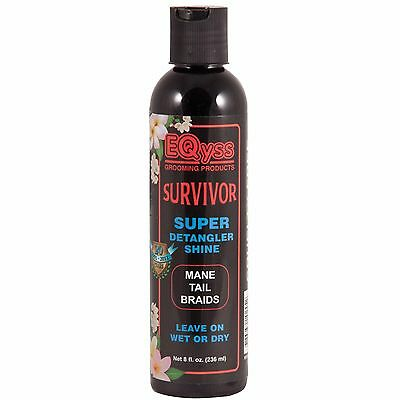 EQyss Survivor Super De-tangle Shine - Maine And Tail - Wet Or Dry - 235ML