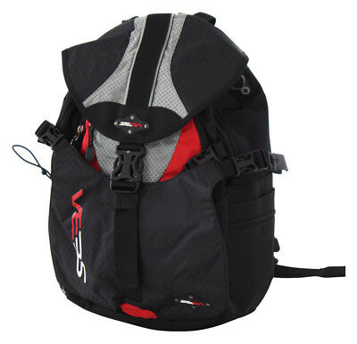 SEBA SMALL Backpack black/red