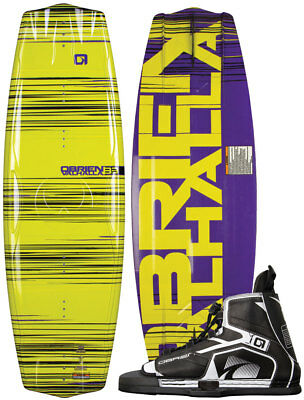 OBRIEN VALHALLA IMPACT 133 2015 inkl. DEVICE Boots Wakeboard Set inkl. Bindung