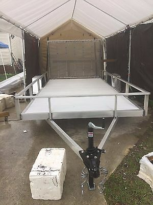 "NEW 6'4"" X 12' Aluminum Trailer w/Torsion Axle"