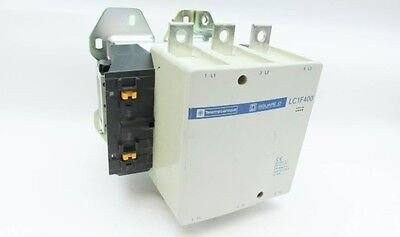 Telemecanique LC1F400 Contactor 420 Amp 300HP 480V Coil LC1-F-400 600V Square D