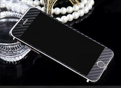 3D Textured Carbon | Snake Fibre Skin Sticker Cover For iPhone 5 5s Black