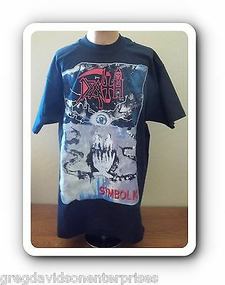 Death Symbolic 1995 World Tour T-Shirt Size Large Metal To The Masses