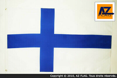 FINLAND FLAG 3' x 5' - FINNISH FLAGS 90 x 150 cm - BANNER 3x5 ft Light polyester