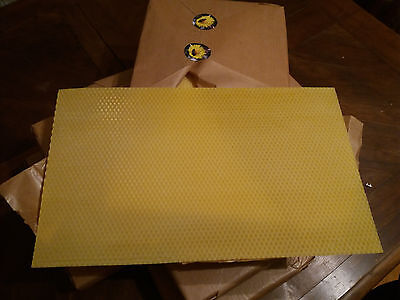 Wax foundation 20 pcs for Slovenian Beehive frames