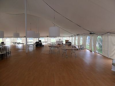 Heavy Duty Maple 12'x12' Dance Floor - Complete Kit with Edges - USA Made