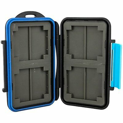 JJC MC-2 Memory Storage Case with 4 x CF/8x SD Card
