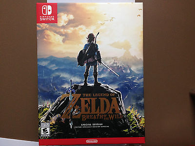 ** Legend of Zelda: Breath of the Wild Special Edition - Nintendo Switch - NEW